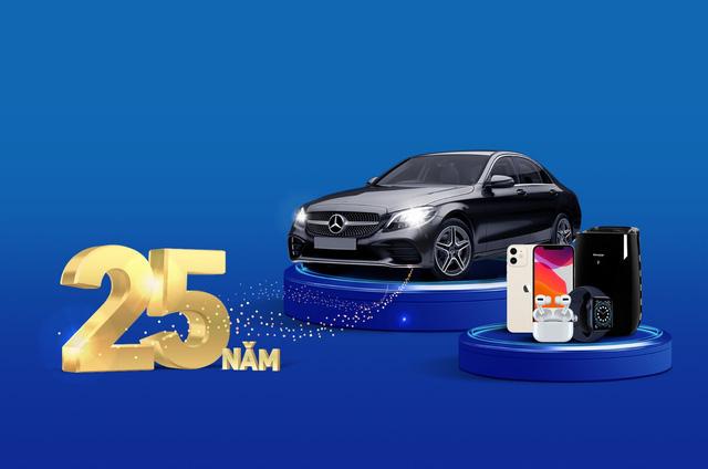 Thanh toán phí qua thẻ VIB, có cơ hội sở hữu xe Mercedes - Ảnh 1.