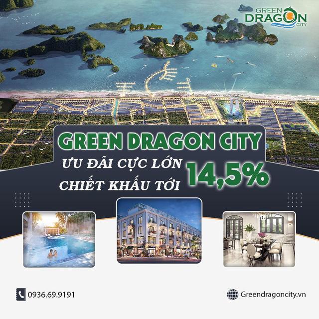 Rinh ưu đãi cuối năm lên đến 14,5% tại Dự án Green Dragon City - Ảnh 2.