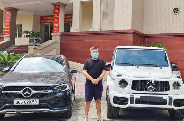 Cận cảnh hàng chục xe sang với số tiền khủng vừa được thu giữ từ một vòng chơi ở Hà Nội - Ảnh 4.