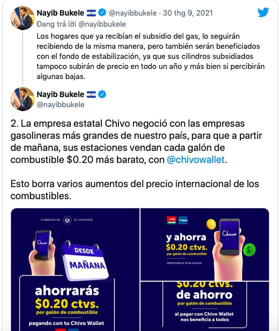 """El Salvador """"tặng"""" đặc quyền cho người sử dụng ví Chivo"""