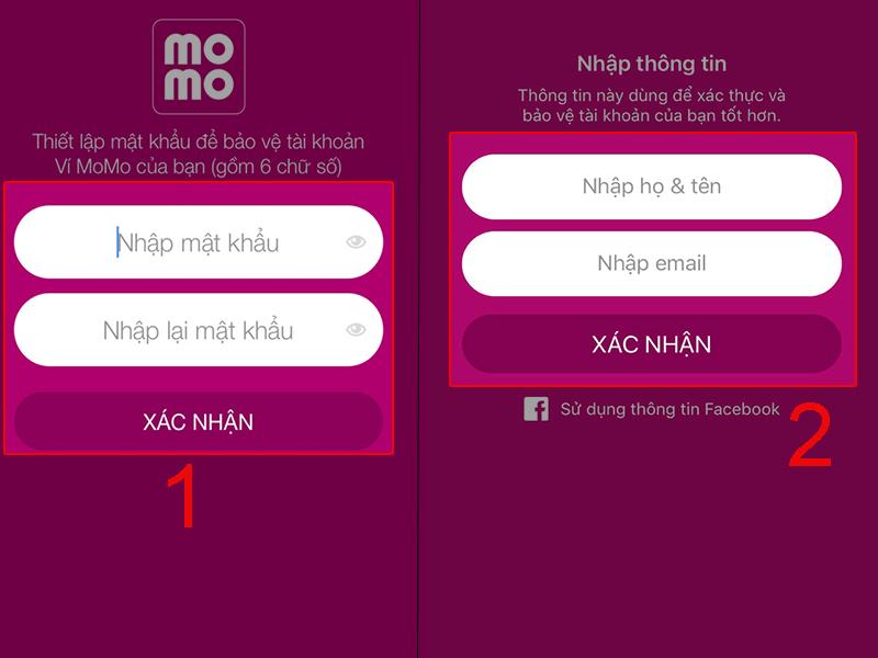 Ví MoMo - Hướng dẫn đăng ký, sử dụng chi tiết