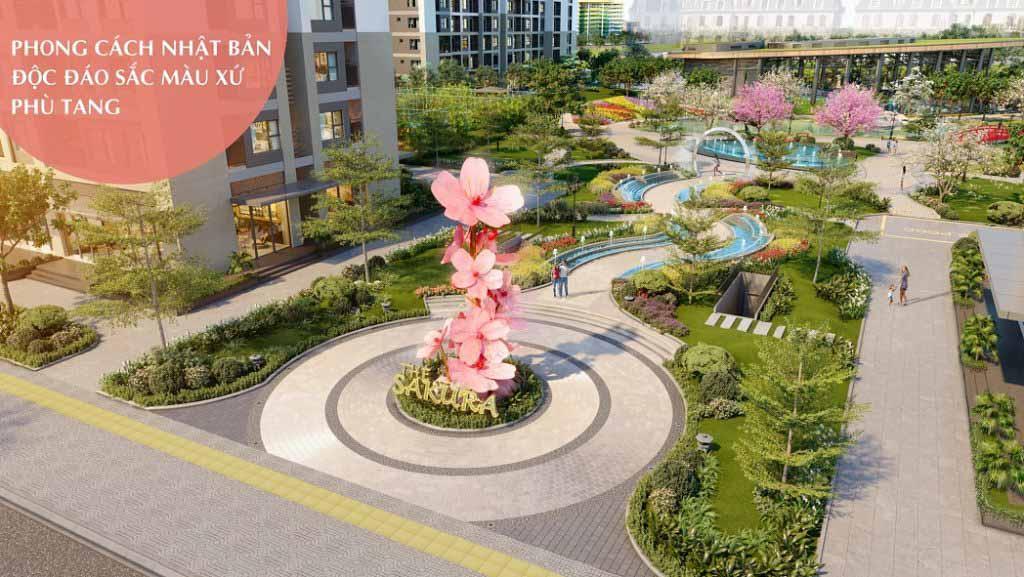 Vinhomes Smart City ra mắt The Sakura - phân khu phong cách Nhật Bản tháng 9/2021